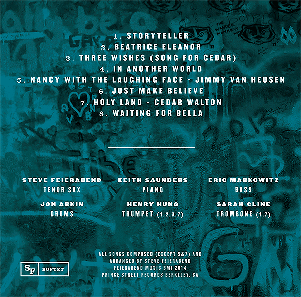 Storyteller CD back cover